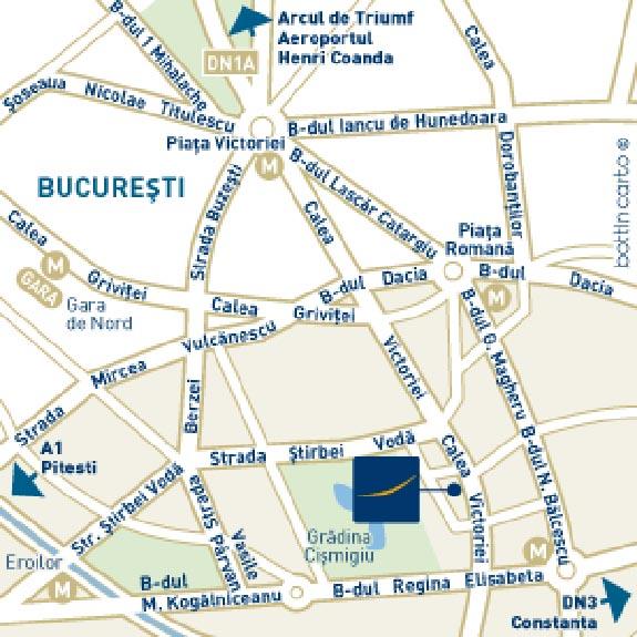 localizare Hotel Novotel